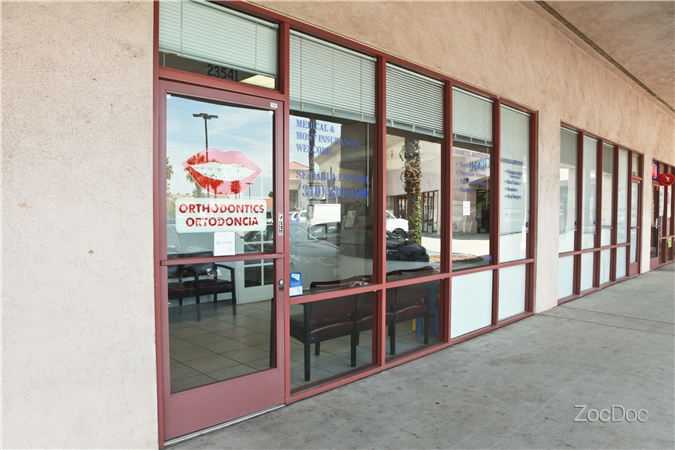 Outside the office - Front Door | Avalon Dental in Carson, CA Location