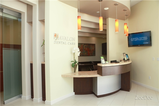 Front Desk Area | Avalon Dental, El Segundo CA Location