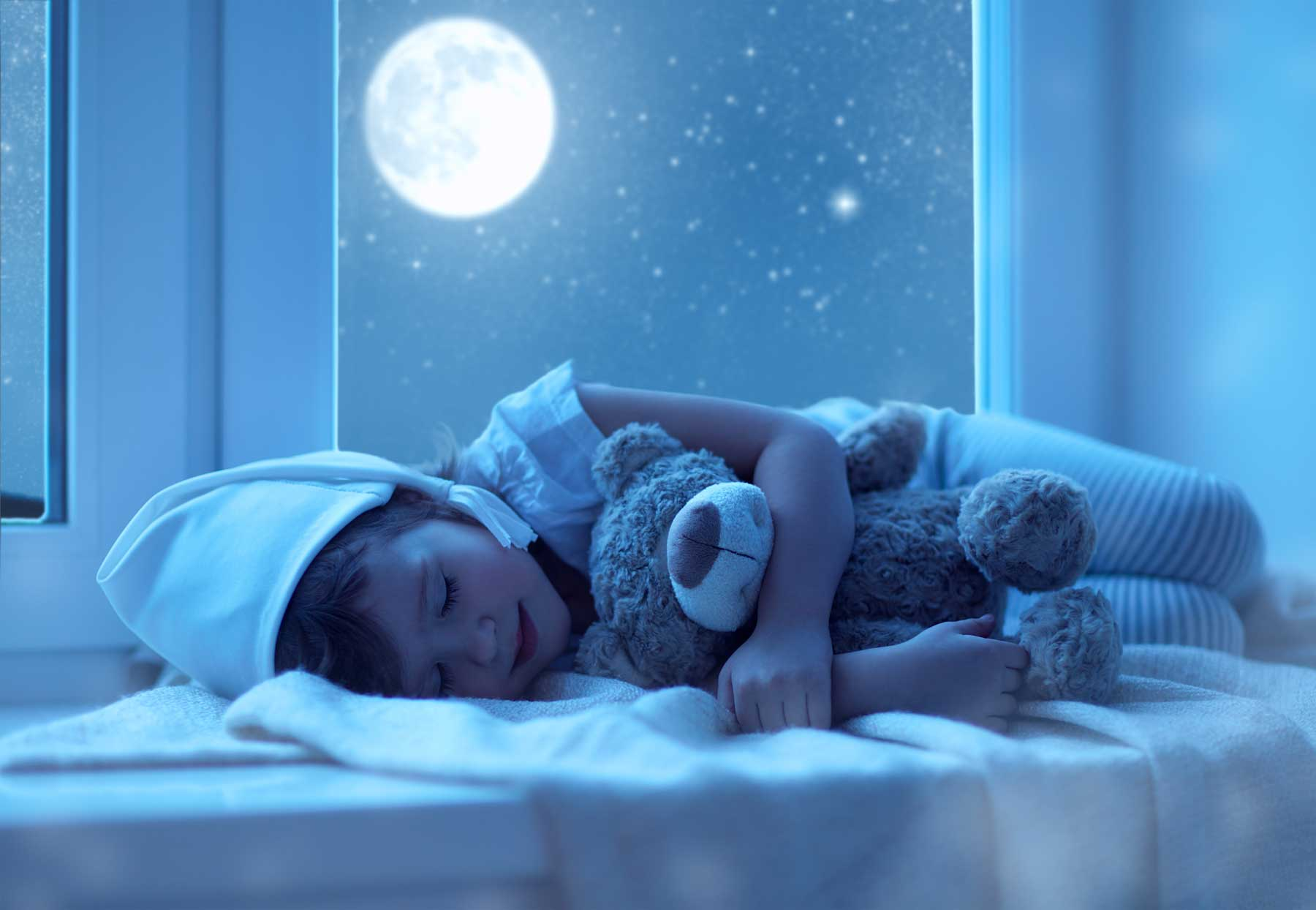 Little kid sleeping at night | Can Children Be Given Nitrous Oxide?